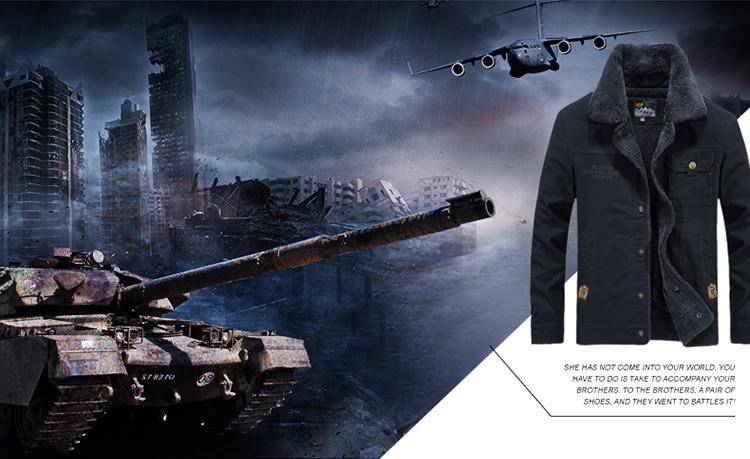 HTB1DIaua.Y1gK0jSZFCq6AwqXXaK FGKKS Winter Men Jacket Men's Fashion Fleece Fur Collar Jackets Male Tactical Mens Warm Jackets Coats