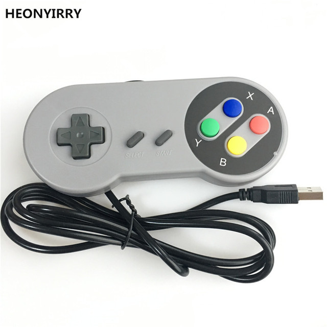 HEONYIRRY USB Game Controller Gaming Joystick Gamepad Controller for SNES Game pad for Windows PC MAC Computer Control Joystick