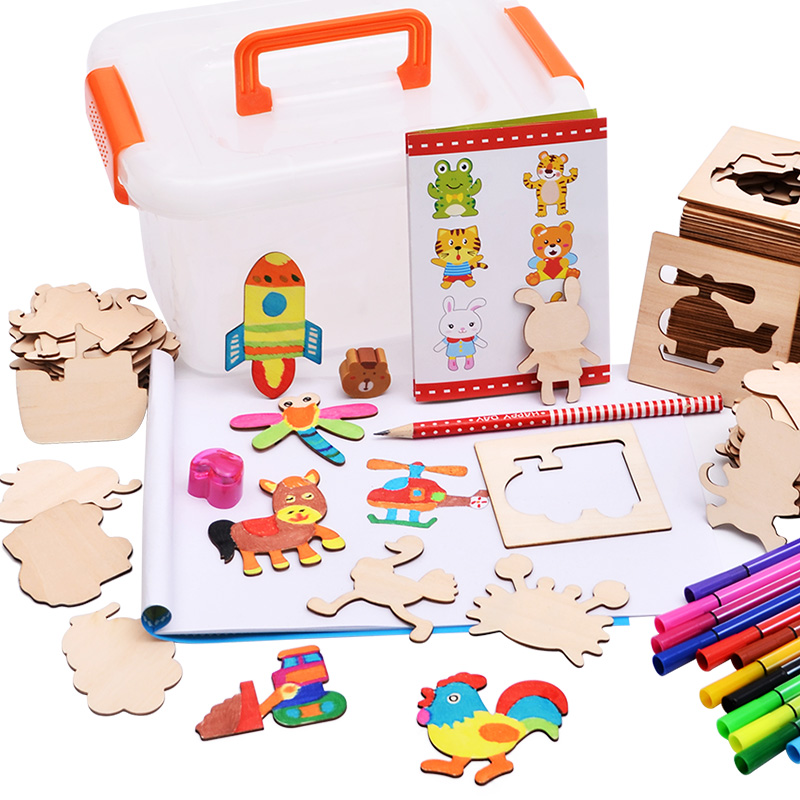 Baby Toys Drawing Board Coloring Board Children Creation Doodles Early Learning Education Toy For Boy Girl