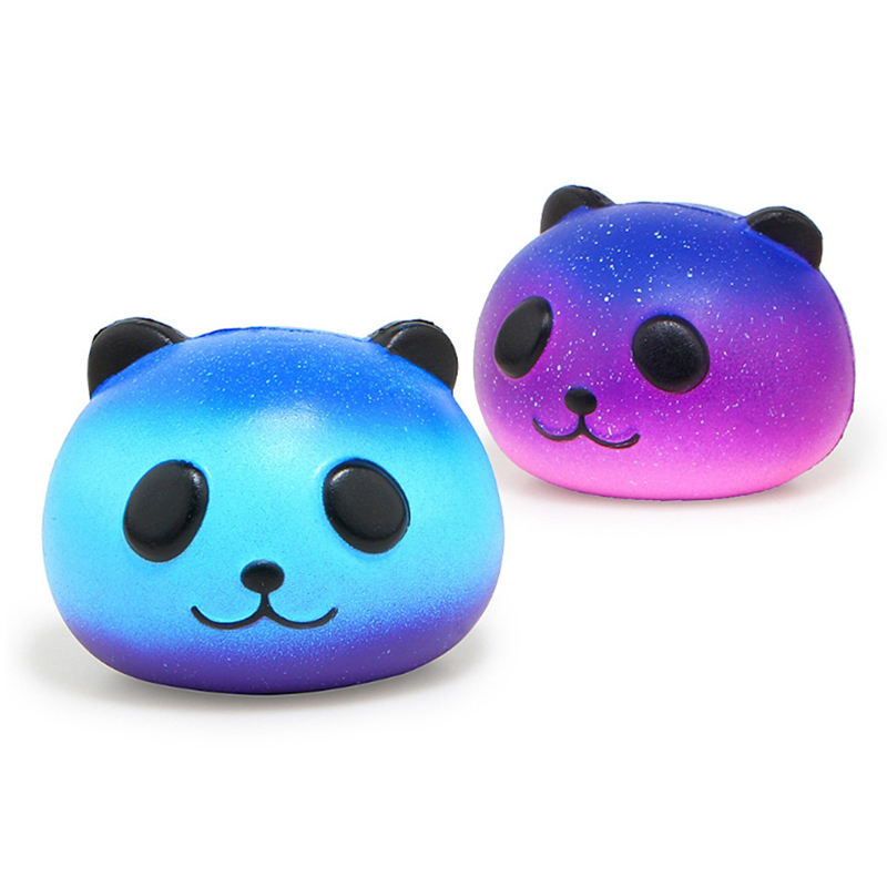 Squeeze-Toy Jumbo Squishy Panda Stress Reliever Colorful Galaxy Fun Gift Slow Rising img2