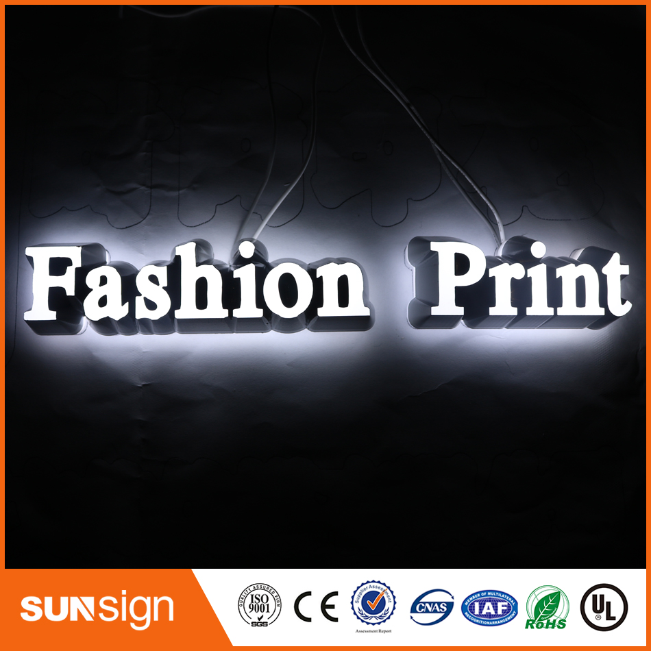 New Arrivel Mini Acrylic Letter Sign Channel Letter Mini Led Letter Sign