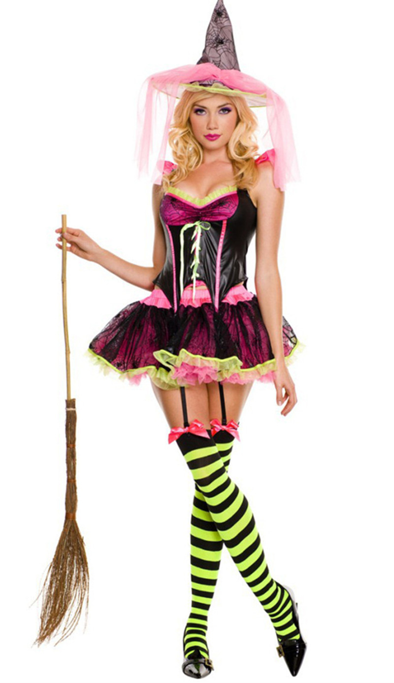 2017 Sexy Witch Costume Deluxe Adult Womens Magic Moment Costume ...