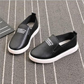 Boys Girls Leather Shoes Fashion Moccasins Kids Causal Shoes English Letter Baby Sneakers