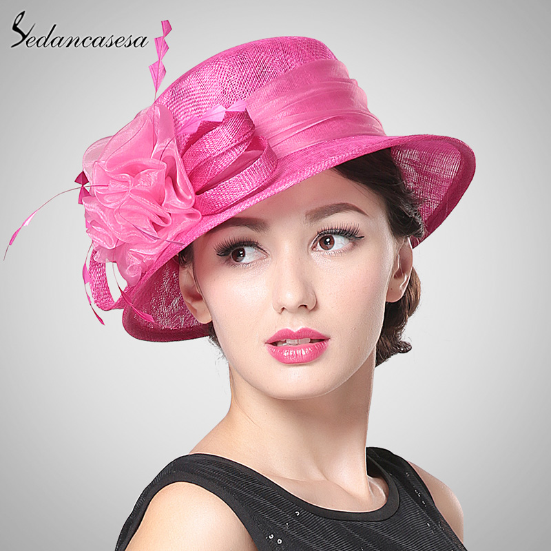 Online Buy Wholesale Sinamay Church Hats From China