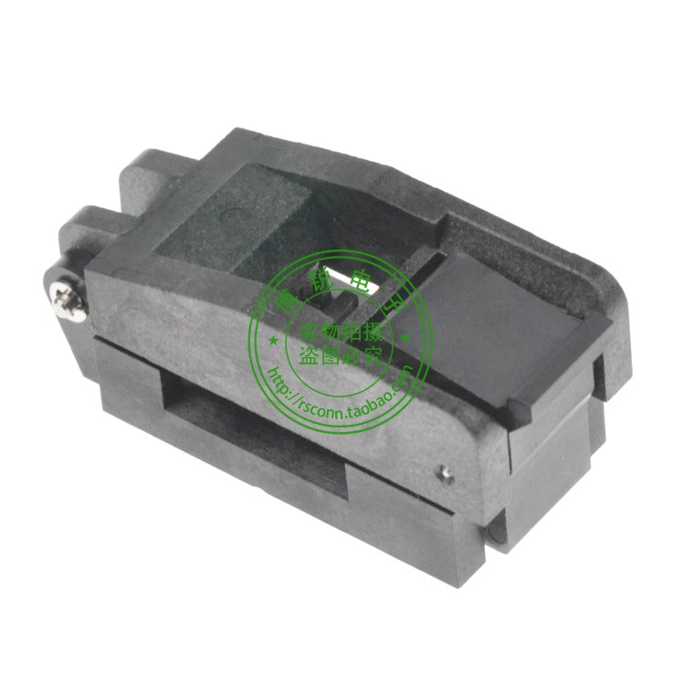 Original enplas IC Test Socket IC burn Block Adapter Model : FP-16-0.65-01 parts ssop24 ic test socket tssop24 fp 24 0 65 01a enplas programmer adapter with 24 pins 5 6mm body width 0 65mm pitch