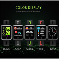Outdoor running pedometer step counter blood pressure heart rate monitoring fitness sports watch step counter for IOS Android