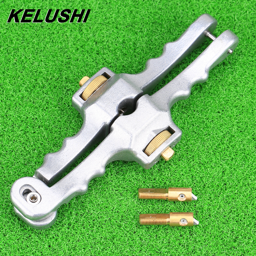 KELUSHI Longitudinal Opening Knife Fiber Optic Sheath Cable Slitter Fiber Optical Cable Stripper SI-01 цена