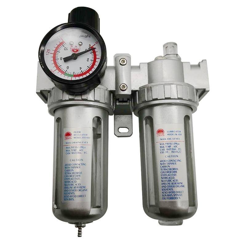 SFC-400 SFC-300 SFC-200 Air Compressor Air Filter Regulator Oil Water Separator Trap Filter Regulator Valve Automatic Drain
