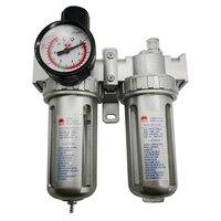 SFC 400 SFC 300 SFC 200 Air Compressor Air Filter Regulator Oil Water Separator Trap Filter Regulator Valve Automatic Drain