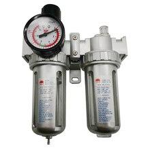 SFC 400 SFC 300 compresor de aire de SFC 200 filtro regulador de aceite separador de agua trampa filtro válvula Reguladora drenaje automático