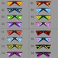 Al aire libre Quad Línea Cometa Acrobática Poder Sport Kite 4 Líneas Con Asas de la Playa Línea de Vuelo Para Los Jugadores Muestra 16 Colores