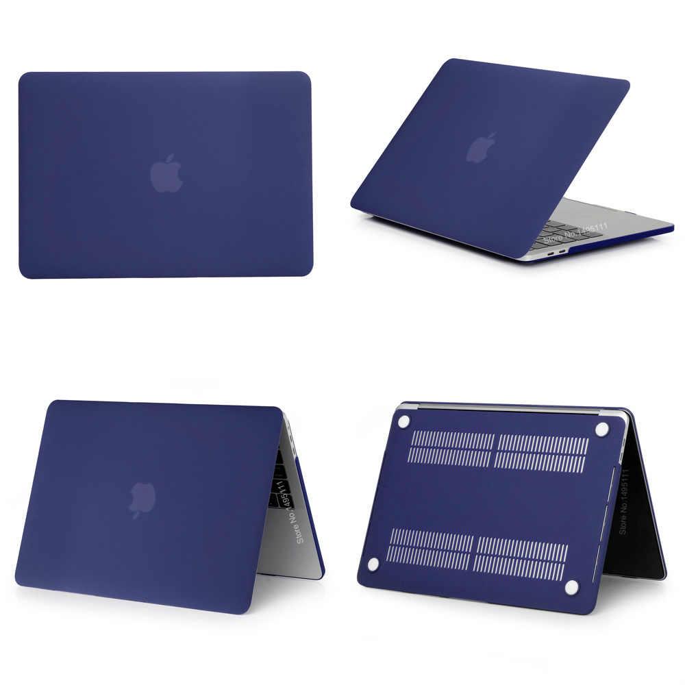 Ordinateur portable de haute qualité étui pour Apple macbook Air Pro Retina 11 12 13 15 16 pour Mac book 13 16 pouces avec barre tactile + housse de clavier