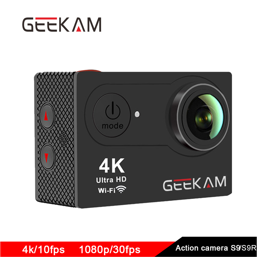 Original GEEKAM S9 action camera 4K sport 1080P WiFi camera camaras deportivas waterproof Outdoor Mini hd dv extreme cameras