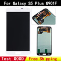 high quality 100% Original test good For Samsung galaxy S5 plus lcd G901f LCD screen display digitizer white freeshipping