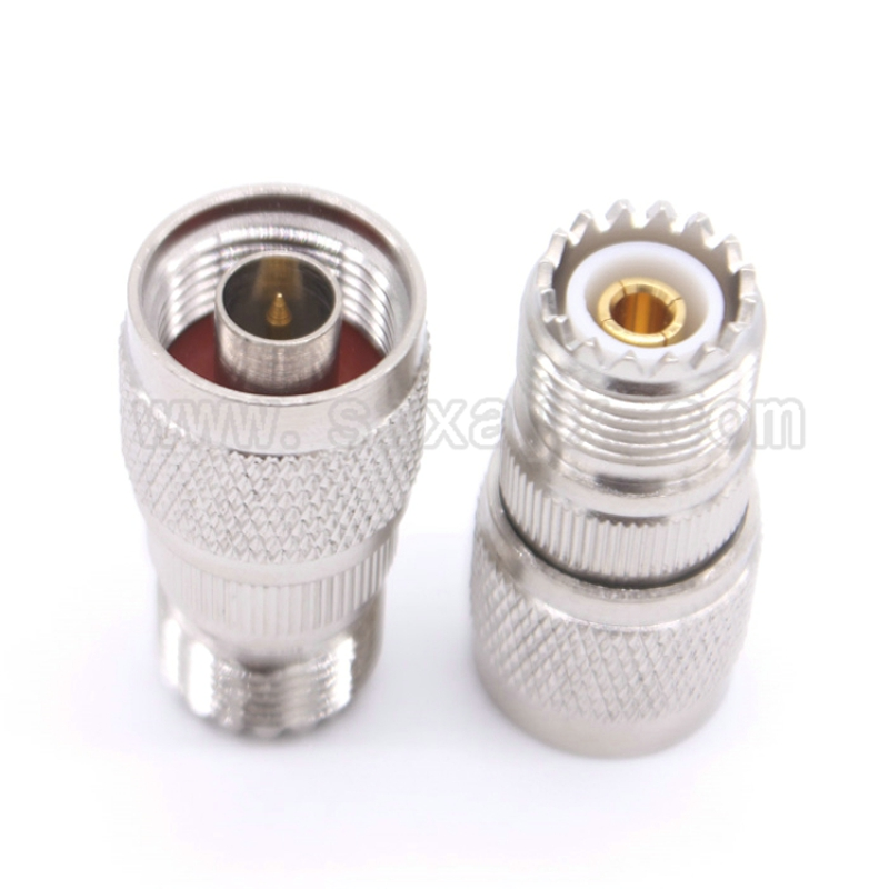 RF coaxial coax N to UHF SO239 connector N male to UHF female Jack SO239 adapter free shipping free shipping l16 n type male to male adapter connector n type male connector n jj rf coaxial adapter connector 10pcs lot