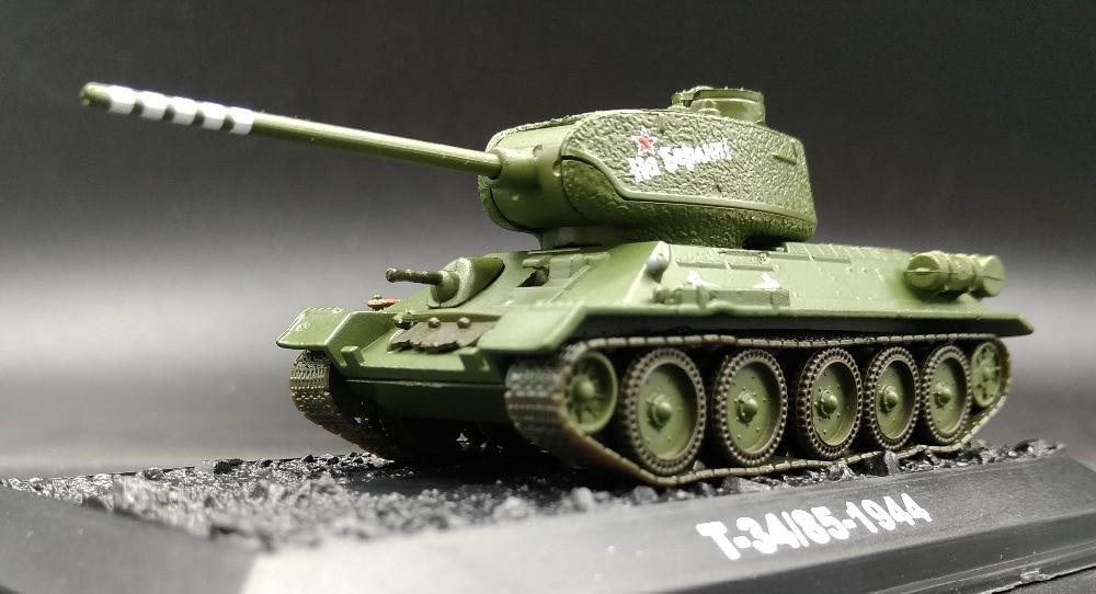 AM 1:72 World War II Soviet tank model T34-85 Alloy tank model Simulation Model Favorites ModelAM 1:72 World War II Soviet tank model T34-85 Alloy tank model Simulation Model Favorites Model