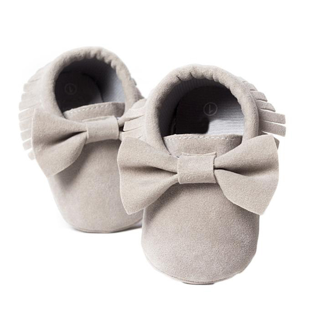 NEW!!!TELOTUNY baby shoes girls moccasins Tassels Bow Casual Shoes PY801 18