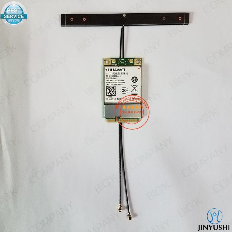 JINYUSHI for ME909s-821+2pcs 4G antenna 100% NEW&Original Mini PCIe FDD LTE 4G WCDMA GSM Module in the stock Free Shipping jinyushi for 5pcs lot sim7100a 4g 100% new