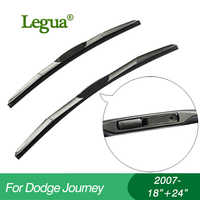 "Legua Wiper blades for Dodge Journey(2007-),18""+24"",car wiper,3 Section Rubber, windscreen wiper, Car accessory"
