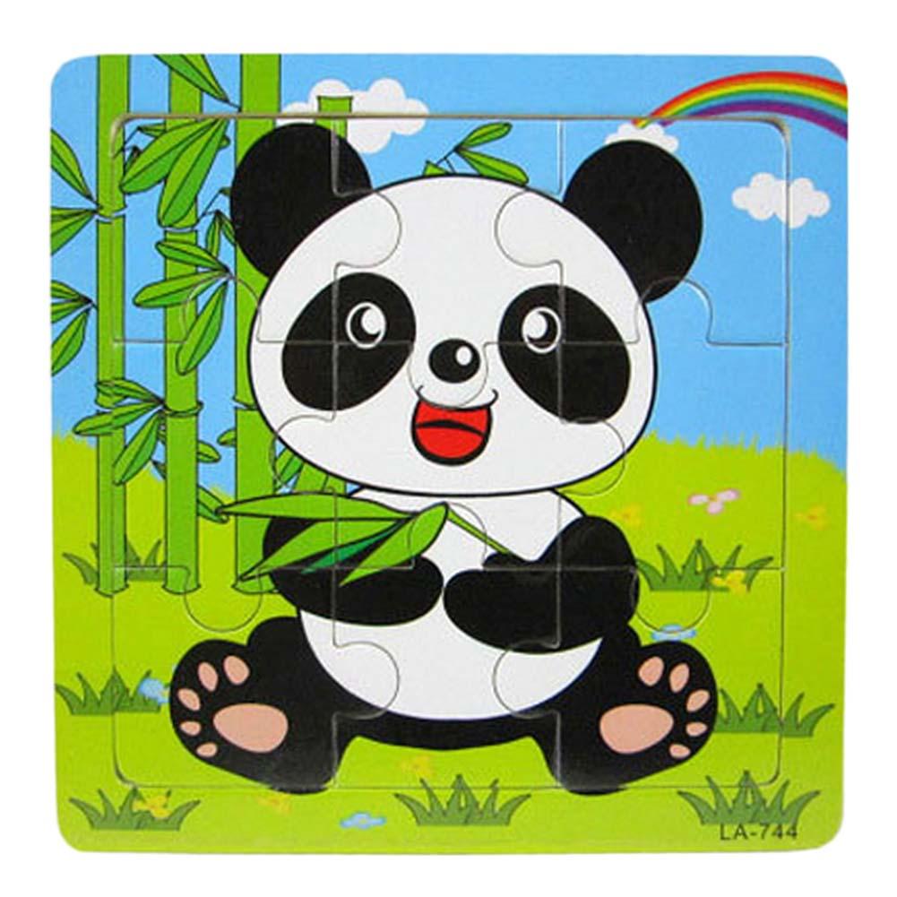 Высокое качество головоломки деревянные небольшой кусок малыш игрушки ребенок деревянные пазлы Развивающие игрушки для детей