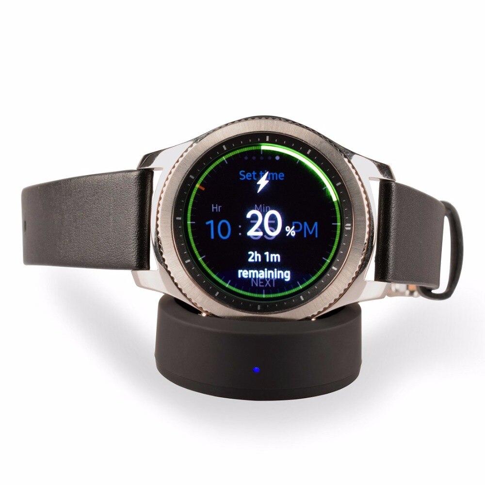 Pro bezdrátovou nabíječku Samsung Gear S3, dokovací stanici Itian Qi pro nabíjení pro hodinky Samsung Gear S3 Classic / Frontier nebo Gear S2
