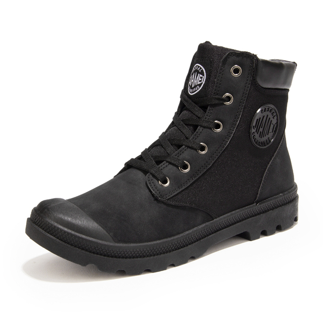 Fashion 2016 Spring/Autumn winter Martin Casual shoes Martin High Top Casual Shoes Men casual Ankle Brand Motorcycle military