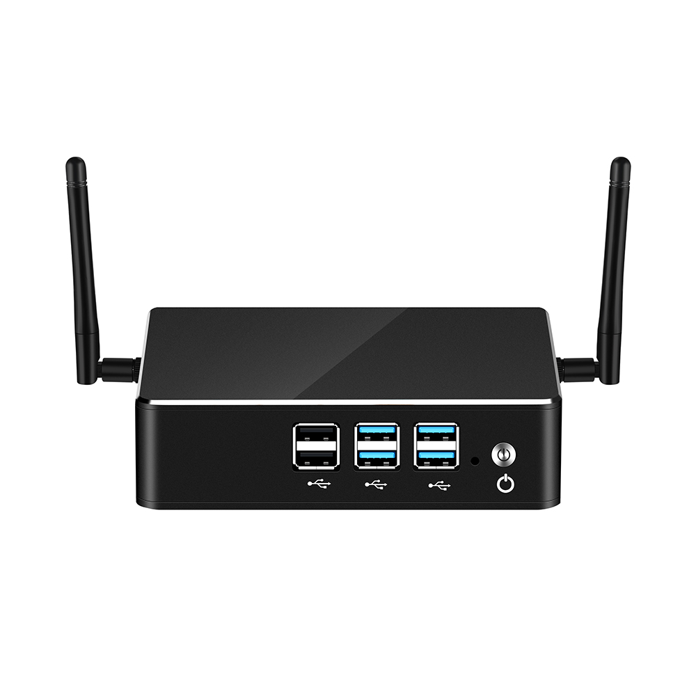 8th Intel Core Mini PC I3 8130U I5 8250U I7 8550U Windows 10 DDR4 MSATA Gigabit Ethernet WiFi Bluetooth 8*USB HDMI VGA 4K HTPC
