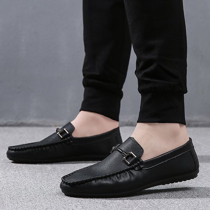 Spring and Summer red and black New men leisure driving shoes light Butterfly Non-slip soft rubber Sole slacker shoes france tigergrip waterproof work safety shoes woman and man soft sole rubber kitchen sea food shop non slip chef shoes cover