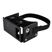 DIY VR 1.0 Virtual Reality Glasses DIY PU Leather Cardboard 3D VR Box Glasses Headset Universal for Android iOS  Smart Phones