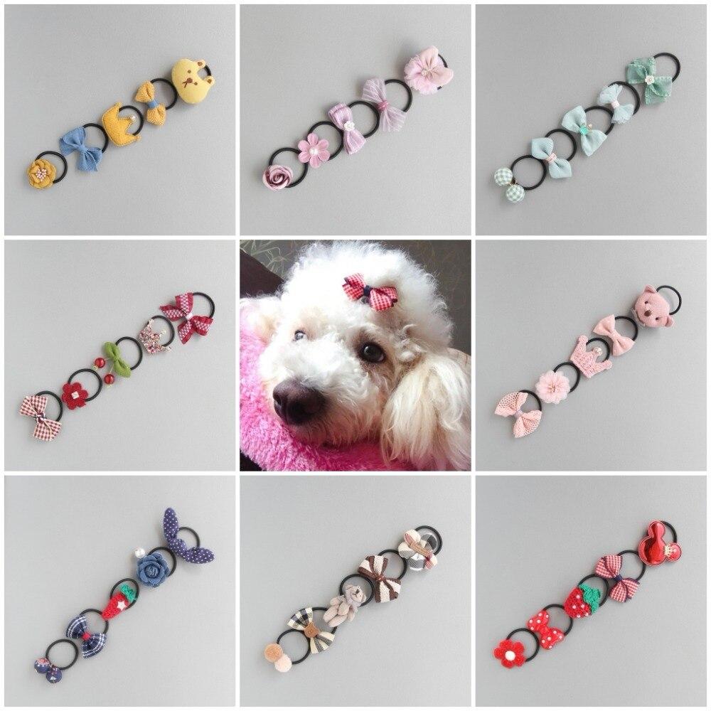 ueetek perro accesorios cabello/ /perro lazos Clips pelo para peque/ño Animal Perro Gato Gatito Puppy 50/piezas