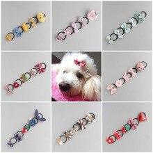 Hair-Rope Pet-Hair-Accessories-Set Dog-Rubber-Band YORKSHIRE-MALTESE Cartoon Teddy Various