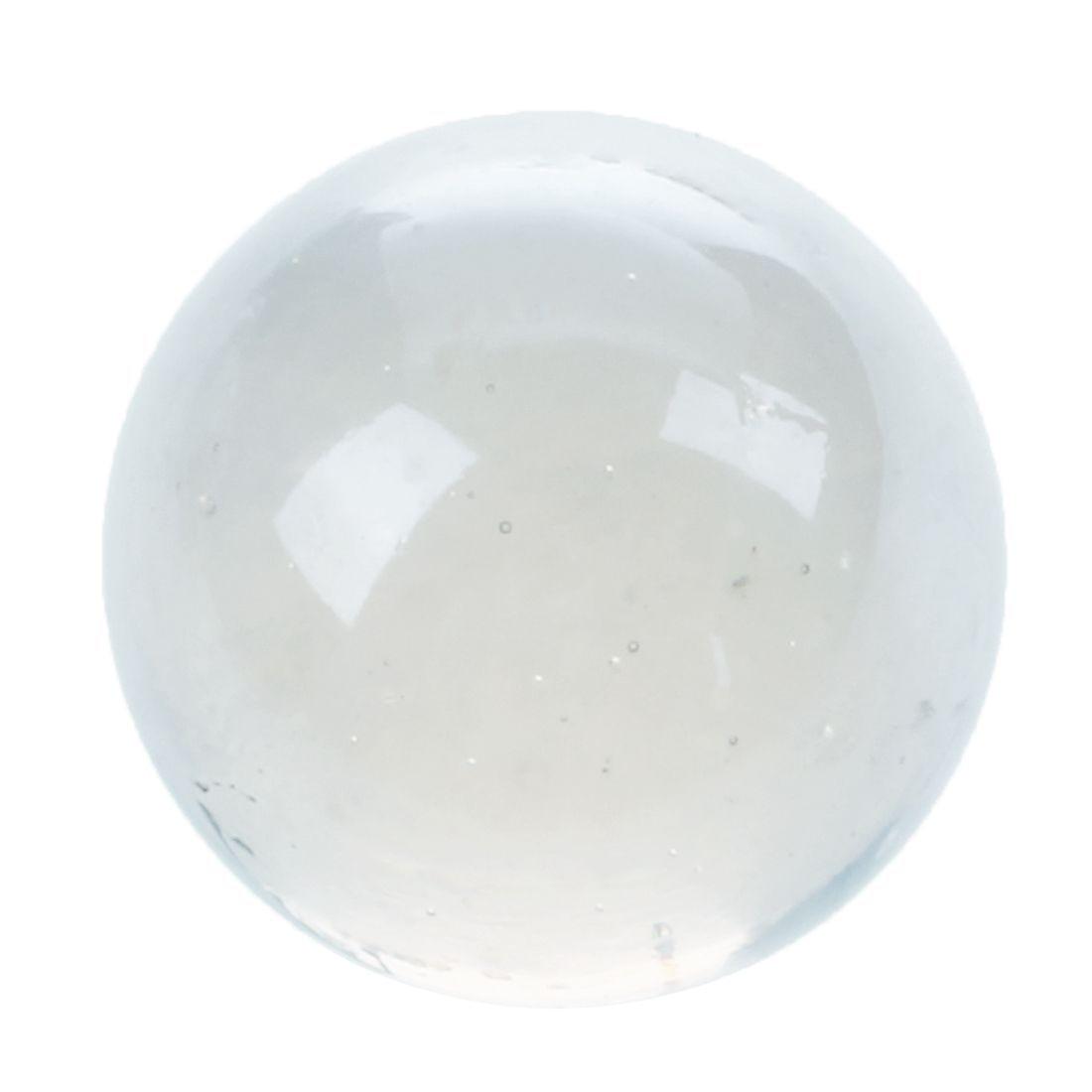 MACH 10 pièces billes 16mm verre billes Knicker boules de verre décoration couleur pépites jouet transparent