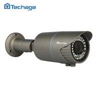 Techage H.265 Home Security FULL HD 4.0MP POE IP Camera Outdoor IR Onvif P2P 2.8-12mm Varifocal Zoom lens CCTV Camera Night View
