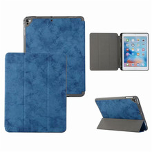 цена на Voor Apple iPad Air Air2 9.7 2017 2018 Smart Cover Case Met Pen Slot Houder Soft TPU Anti Klop Protector iPad Air 2 iPad 9.7 Tas