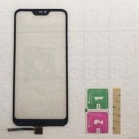 Xiao mi red mi 6 pro 터치 스크린 센서 패널 xiao mi mi a2 lite 터치 스크린 휴대 전화 닦음 용 터치 스크린 전면 유리