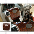 Wood Color Steering wheel Center Cover Trim For Toyota Prado FJ150 2010-2016