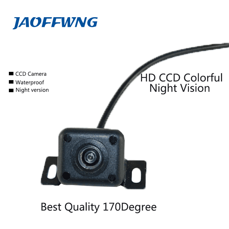 Best quality HD CCD Car Rearview Camera Waterproof IR night vision Wide Angle Luxur car rear view camera reversing Backup Camera image