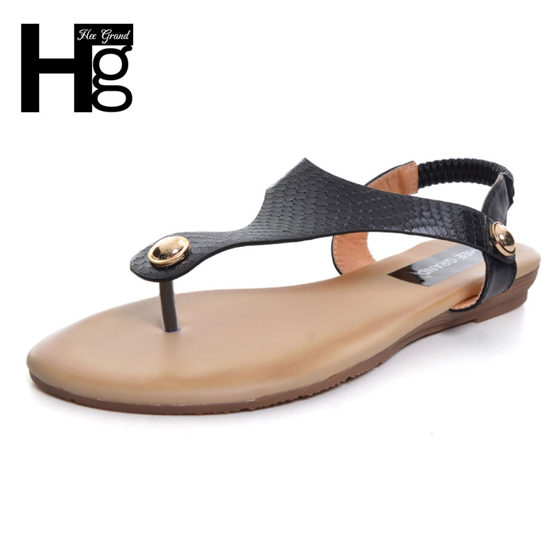 HEE GRAND Summer Flip Flops 2017 Platform Women Sandals Casual Beach Shoes Woman Slip On Flat with Size 35-41 XWZ3908 hee grand lace up gladiator sandals 2017 summer platform flats shoes woman casual creepers fashion beach women shoes xwz4085