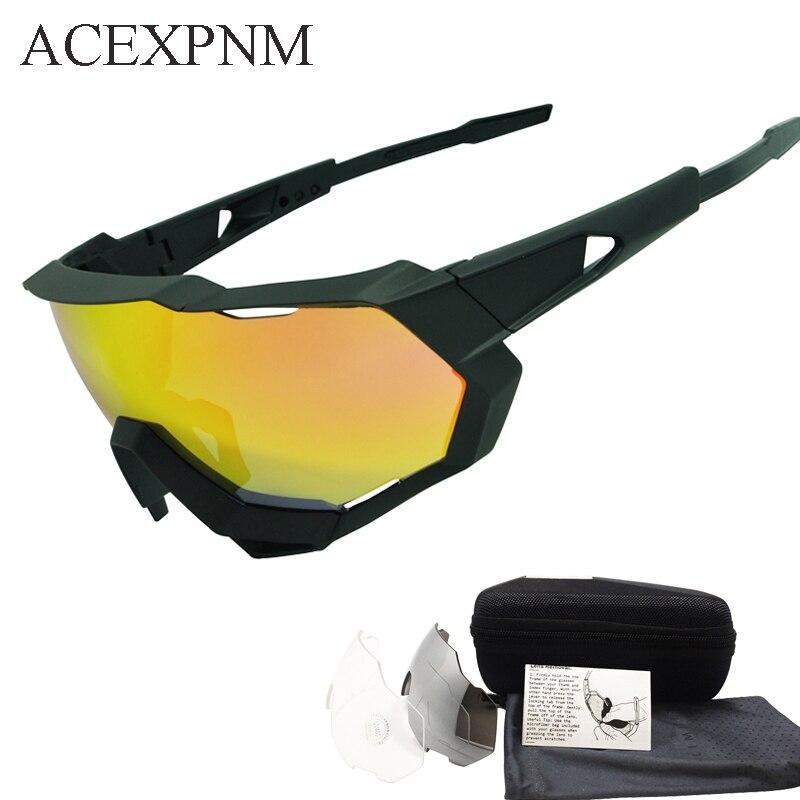 9d7825a14c8fd0 ACEXPNM Coated Mirror Cyclisme Lunettes Vélo Sports de Plein Air ...