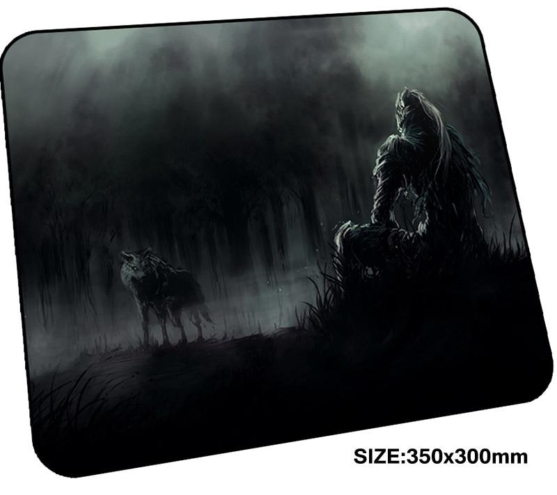 Dark Souls коврик для игровой мыши 350x300x3 мм коврик для игровой мыши Рождественские подарки ноутбук аксессуары padmouse яркие эргономичный коврик