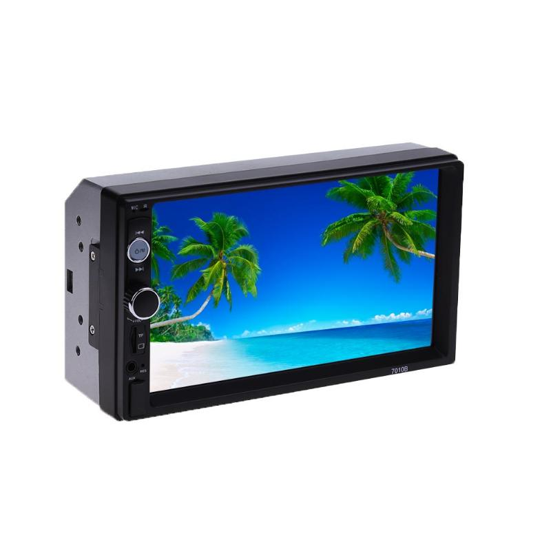 7 inch HD Touch Screen Auto Car MP4 Video Player Bluetooth Parking Card Radio Car MP5 Player Supports Hands-free call Promotion