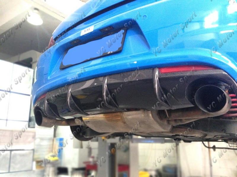 2009-2013 VW Scirocco R Racing Style Rear Diffuser CF (18)