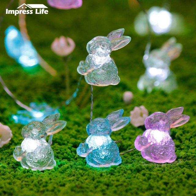 Outdoor Easter Lights Easter decorations rabbits string lights bunny fairy lights with easter decorations rabbits string lights bunny fairy lights with remote for indoor outdoor wedding birthday bedroom workwithnaturefo