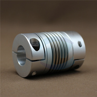 Big Stainless Steel Bellow Coupling Motor Shaft Coupler Flexible Coupling D82*L103 bore 30mm to 32mm