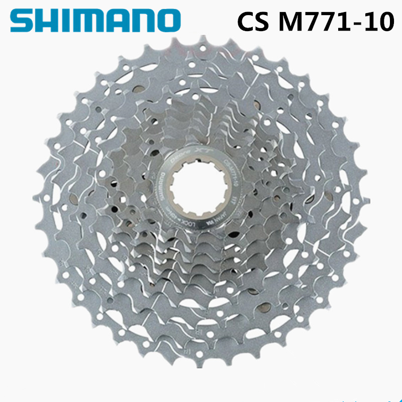 SHIMANO XT CS M771-10 11x36T 34T 10 Speed MTB Bike Bicycle Cassette Freewheel goxpacer arrival fashion sandals rhinestone flats bohemia women summer style shoes women flat flip flops plus size 35 41