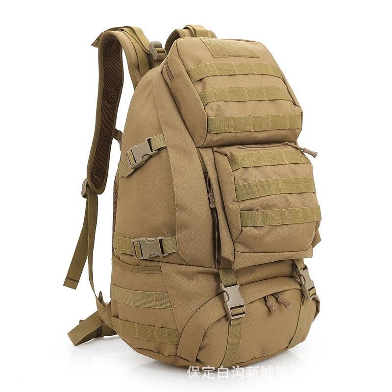 Camouflage sac à dos tactique militaire sac extérieur alpinisme trekking sacs montagne sac à dos imperméable randonnée Camping pack