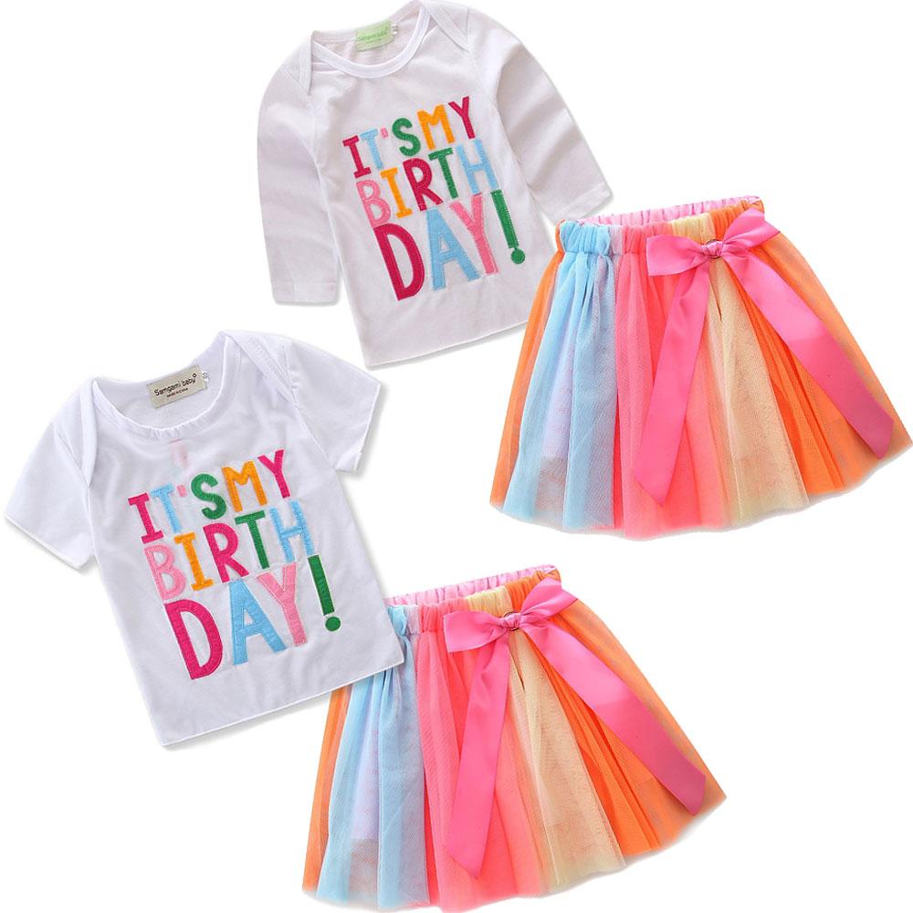 Samgami Baby Baby Summer Skirt Toddler Girls Pure Yellow Short Sleeves Shoulder Party Dress