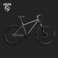 LAUXJACK Mountain Bike Titanium Frame 33 Speed Shimano XT Hydrualic Brake 26 27 5 Wheel