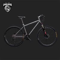 LAUXJACK Mountain Bike Titanium Frame 33 Speed Shimano XT Hydrualic Brake 26 27 5 Wheel