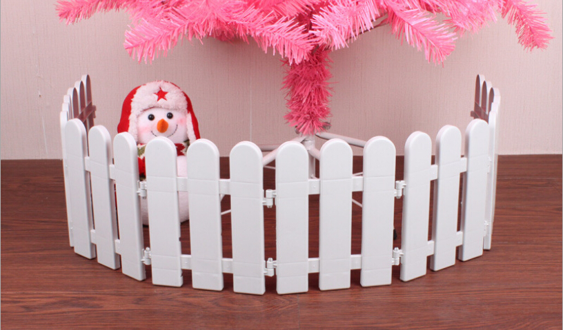 Aliexpress.com : Buy 20x15CM Plastic Christmas Tree Fence ...